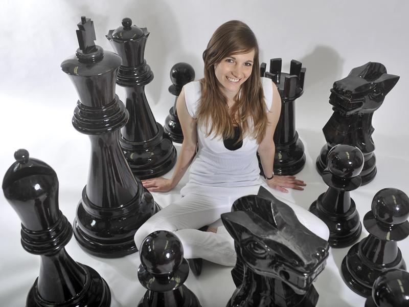 Riesenschach, grosse Schachfiguren, Giant Chess, Gartenschach