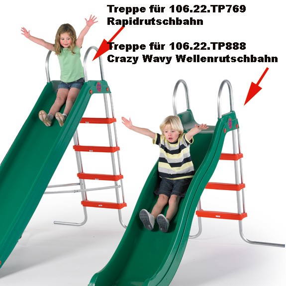 Treppe für Rapide-Rutsche 300 cm
