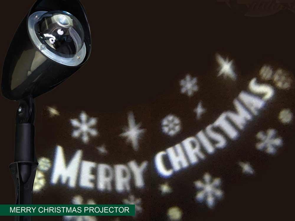 Weihnachtsmotive, die sich bewegen, sind sehr schön anzusehen