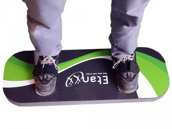 Bounce Board Snowboard-Trainingsboard für Trampoline