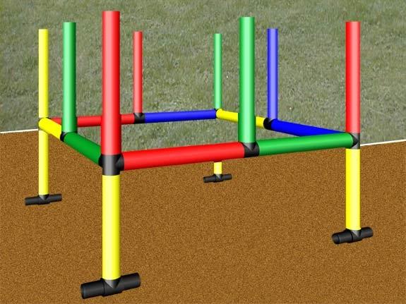 MoveAndStic Bodenverankerungen Outdoor 4 Stück