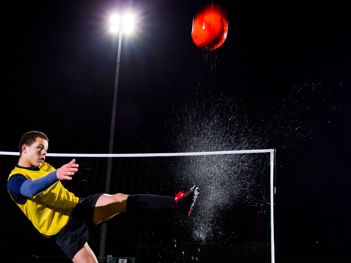 Mobile Fussballtore - reine Lust zum Kicken