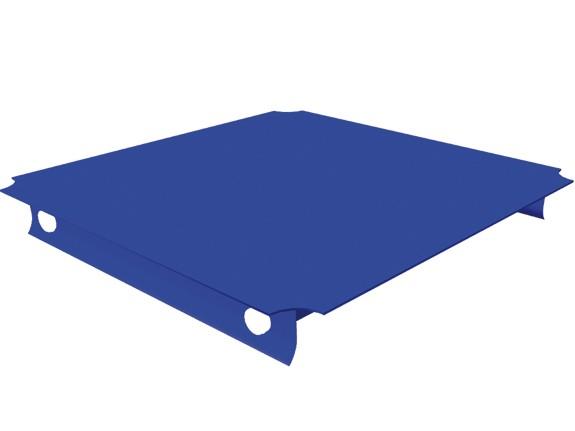MoveAndStic Platte, 40 x 40 cm, blau