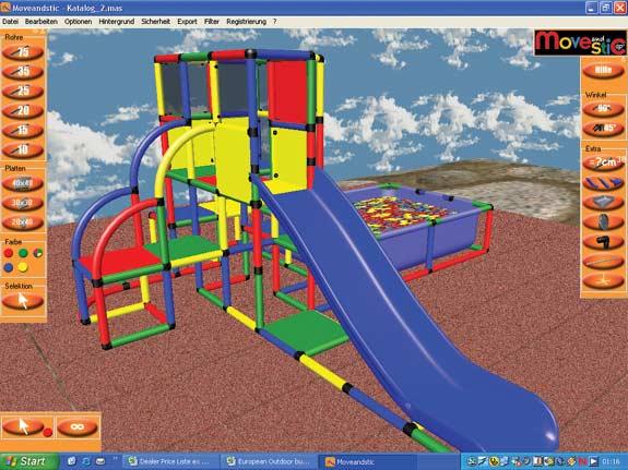 MoveAndStic CAD Designer-3D Software eigene Konstruktion entwerfen