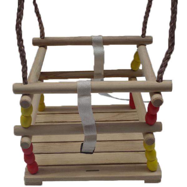 Schaukelsitz für kleine Kinder aus Holz
