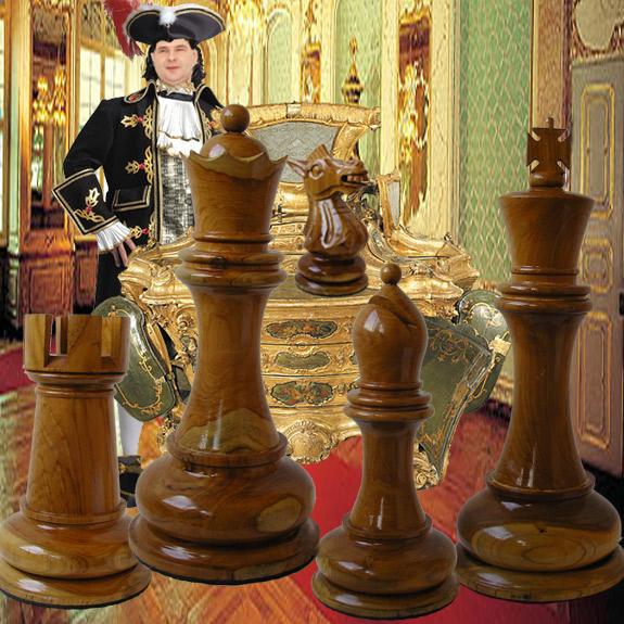 Stimmungen zaubern mit grossen Schachfiguren