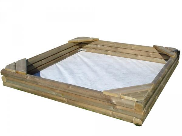 Bodenvlies für Sandkästen, Breite 200 cm, Länge wird auf Mass zugeschnitten